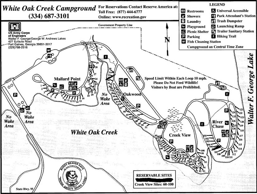 whiteoak map