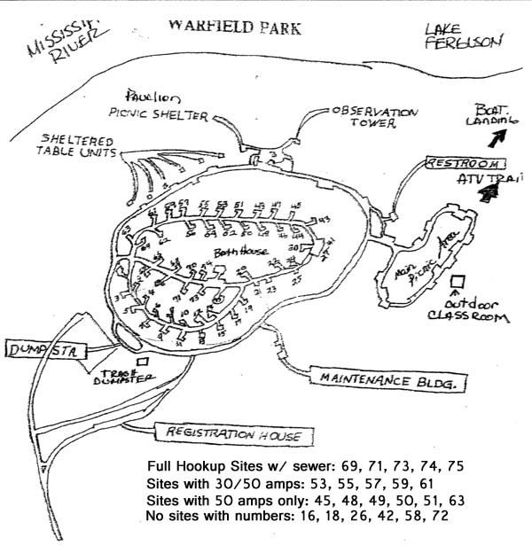 warfield point map
