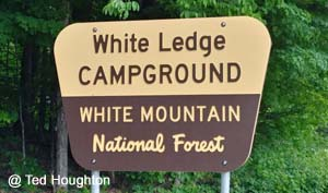 White Ledge CG Sign